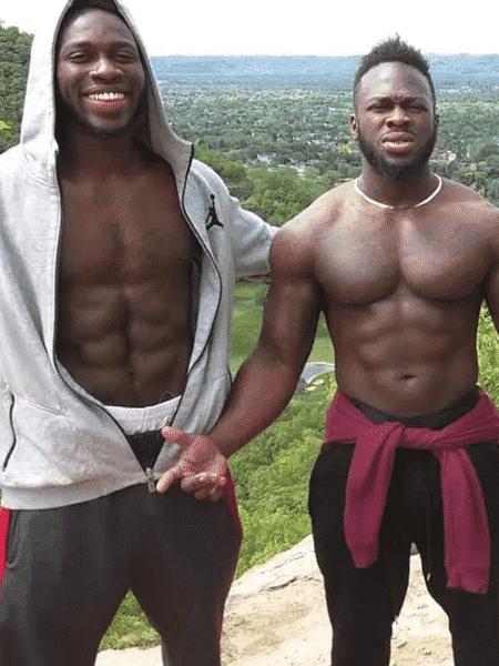 Os irmãos Abel e OlaOsundairo, envolvidos no caso Jussie Smollett - Reprodução