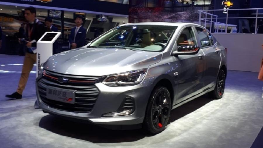 Novo Chevrolet Onix é um dos lançamentos de Xangai que virá em breve para o Brasil - Vitor Matsubara/UOL