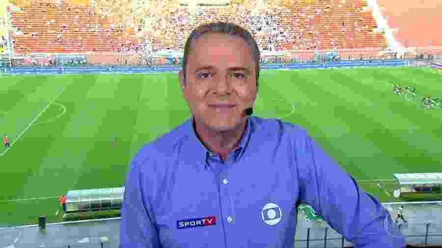 Globo escalou Luis Roberto para narrar a final da Taça das Favelas no Rio - Reprodução/TV Globo