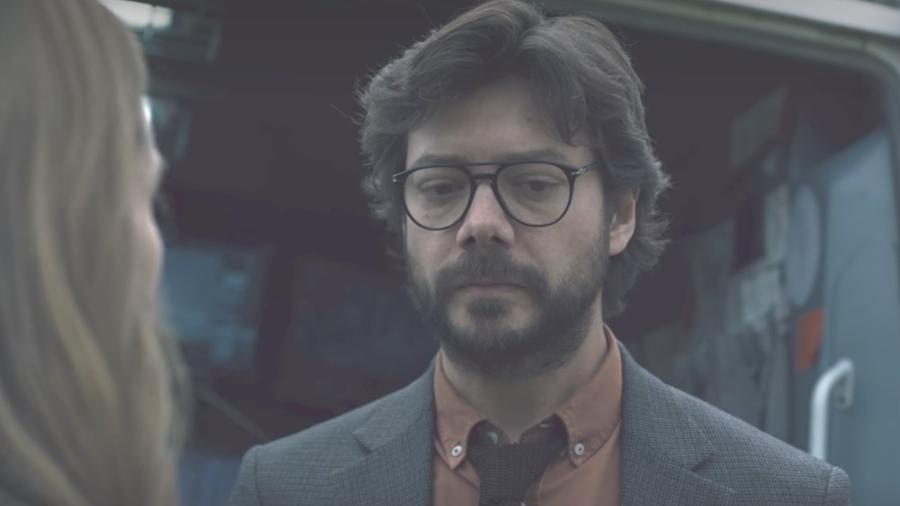 La Casa de Papel: Professor e Raquel discutem em cena da terceira parte da série - Reprodução/Netflix