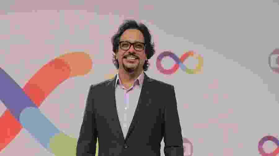 Lúcio Mauro Filho na inauguração dos novos estúdios da Globo - Victor Pollak/Globo e Paulo Belote/Globo