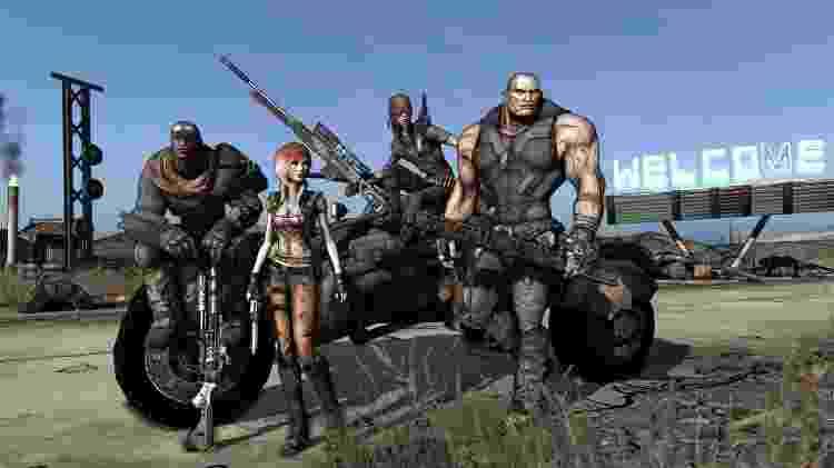 Da esquerda pra direita: Roland, Lilith, Mordecai e Brick - Divulgação