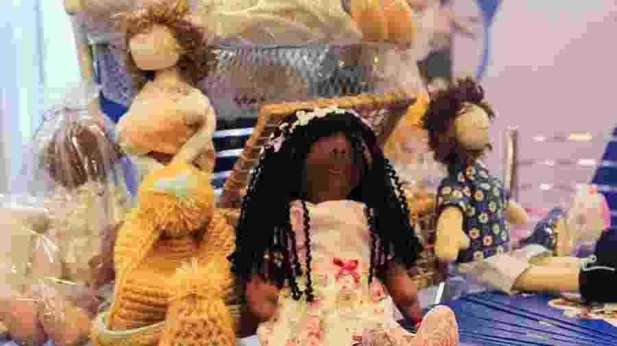 Bonecas terapêuticas da Associação Casazul - Divulgação