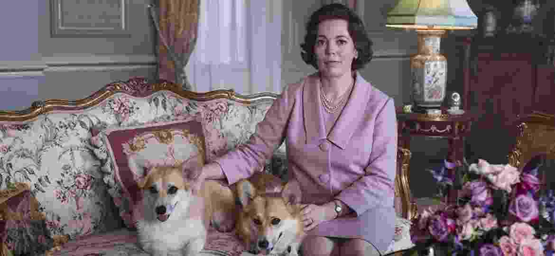 Olivia Colman em cena da terceira temporada de The Crown - Divulgação