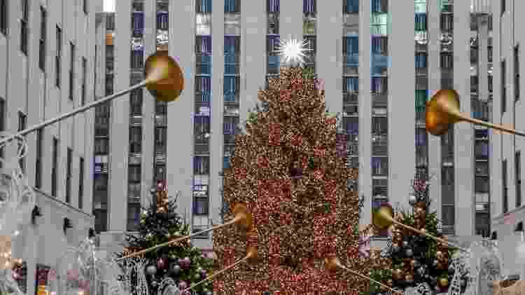 Árvore de Natal do Rockefeller Center, em Nova York, nos EUA - iStock