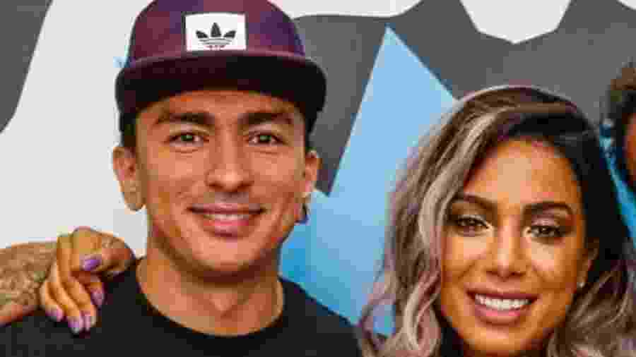 Renan Machado e a irmã famosa, Anitta, discutiram brigas de criança - Reprodução/ Instagram
