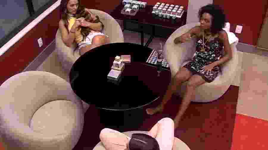 BBB 20: Thelma critica Babu - Reprodução/Globoplay