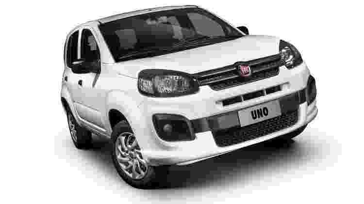 Fiat Uno - Divulgação - Divulgação