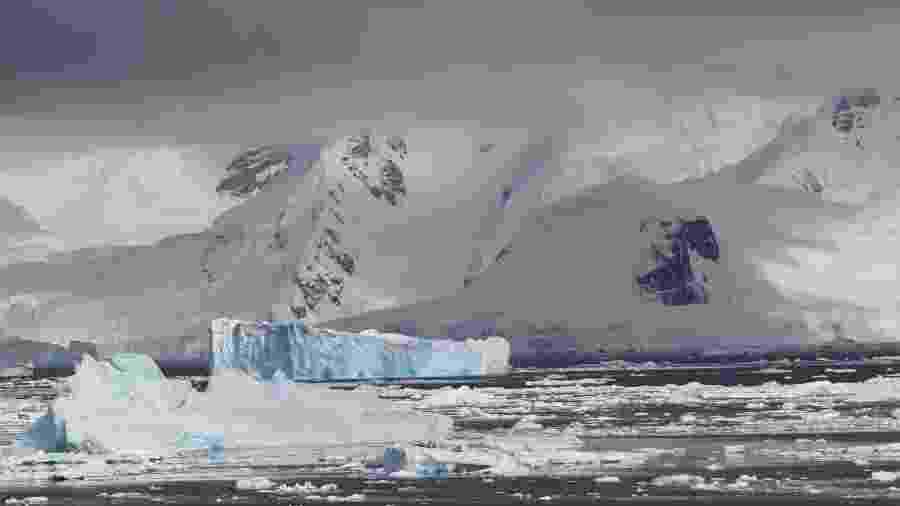 Estreito de Gerlache, na Antártida  - Eduardo Vessoni
