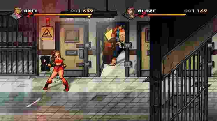 Streets of Rage 4 Artigo 1 - Reprodução - Reprodução