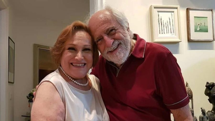 Ary Fontoura e Nicette Bruno trabalharam juntos em vários projetos da Globo - Reprodução/Instagram