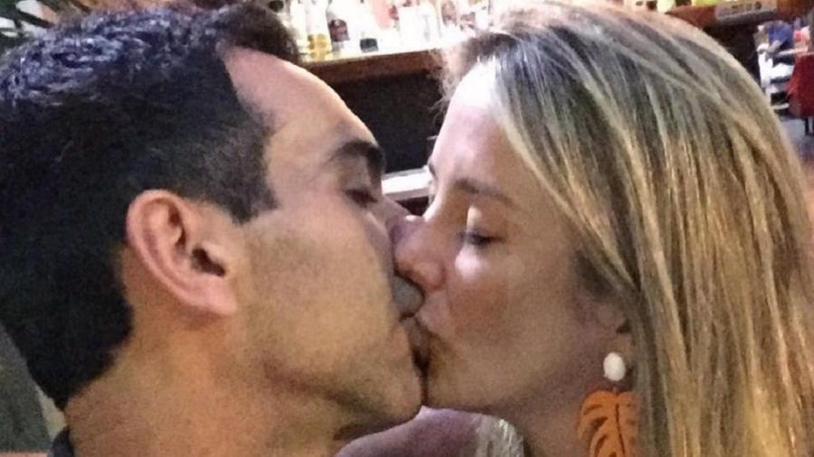 Ticiane Pinheiro e César Tralli comemoram 7 anos de relacionamento - Reprodução/Instagram@ticianepinheiro
