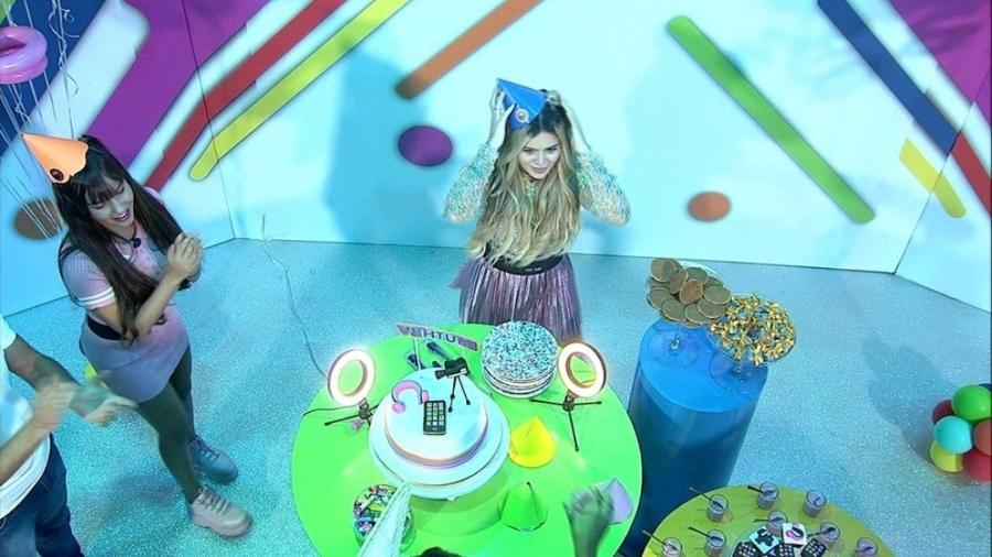 BBB 21: Festa Viih Tube parabéns - Reprodução/Globoplay