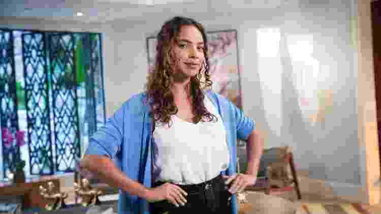 Aurora (Gabriela Moreyra) em 'Salve-se Quem Puder' - Globo/João Miguel Júnior - Globo/João Miguel Júnior