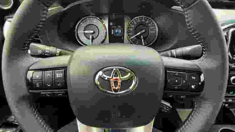 Toyota Hilux SRX 2.8 2021 - José Antonio Leme/UOL - José Antonio Leme/UOL