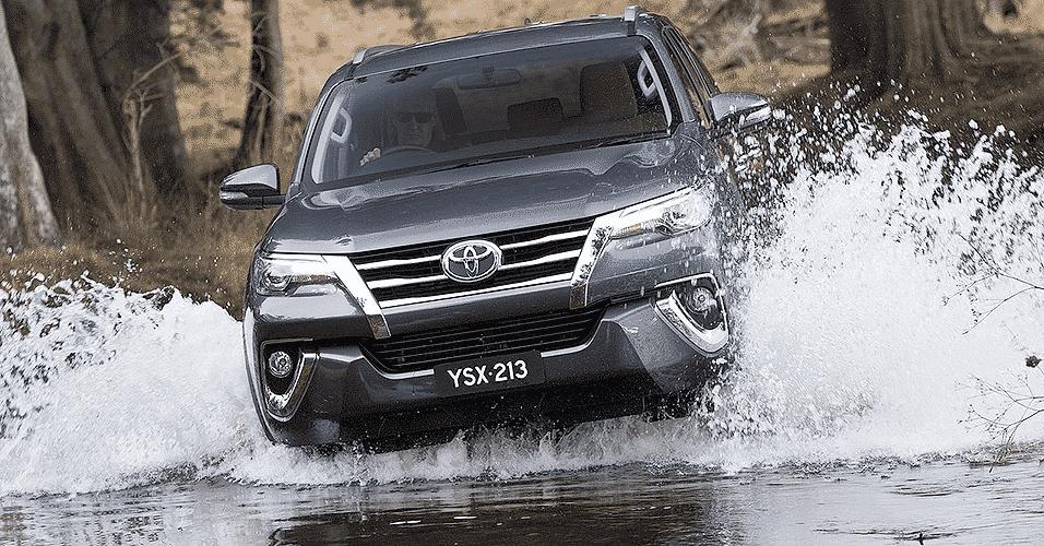 Toyota Fortuner SW4 - Divulgação