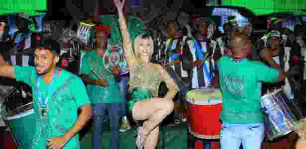 Julianne Trevisol em ensaio da Grande Rio - Rodrigo dos Anjos/AgNews - Rodrigo dos Anjos/AgNews