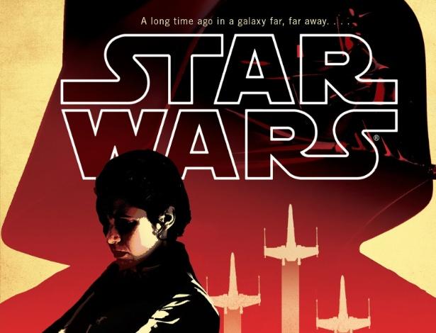 """Capa do livro """"Star Wars: Bloodline"""" - Divulgação"""
