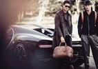Armani cria coleção masculina artesanal para a marca de carros Bugatti - Divulgação