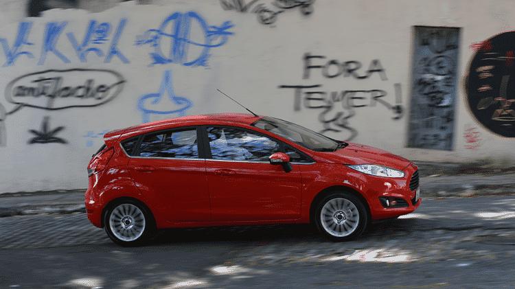 Ford Fiesta Titanium Plus 1.0 Ecoboost 2017 - Murilo Góes/UOL - Murilo Góes/UOL