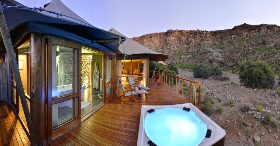 Sanbona Wildlife Reserve, na África do Sul