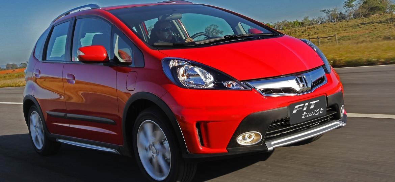 Honda Fit Twist é um dos modelos envolvidos nesta convocação - Divulgação