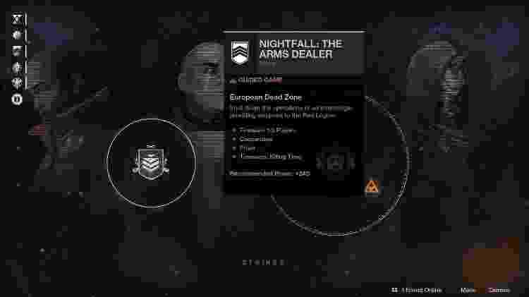 Destiny 2 - atividades do anoitecer - Reprodução - Reprodução