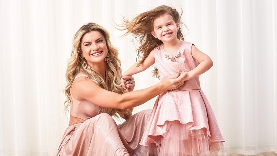 Mirella Santos e a filha, Valentina Santos Muniz, 3 anos - Gustavo Arrais/Divulgação
