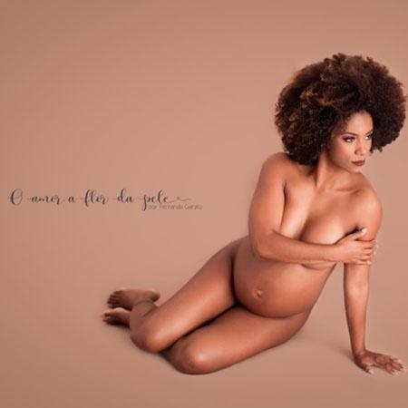 Na reta final da gravidez, Ivi Pizzoti faz sensual nu - Reprodução/Instagram