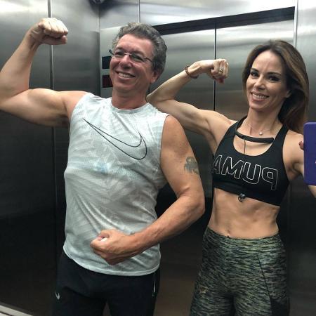 Boninho e Ana Furtado - Reprodução/Instagram
