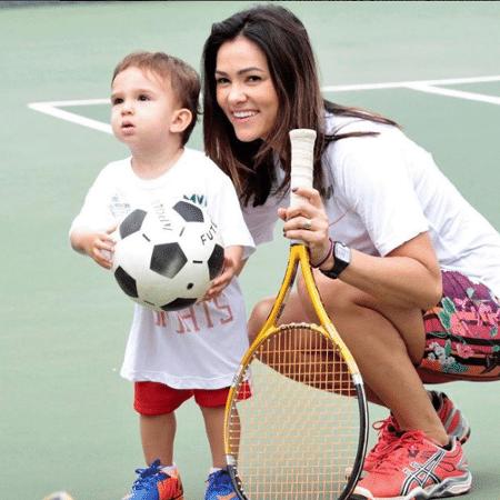 Suzana Alves e o filho, Benjamin - Reprodução/Instagram/suzanaalvesoficial