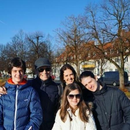 Celso Portiolli curte férias com a família na Europa - Reprodução/Instagram/celsoportiolli