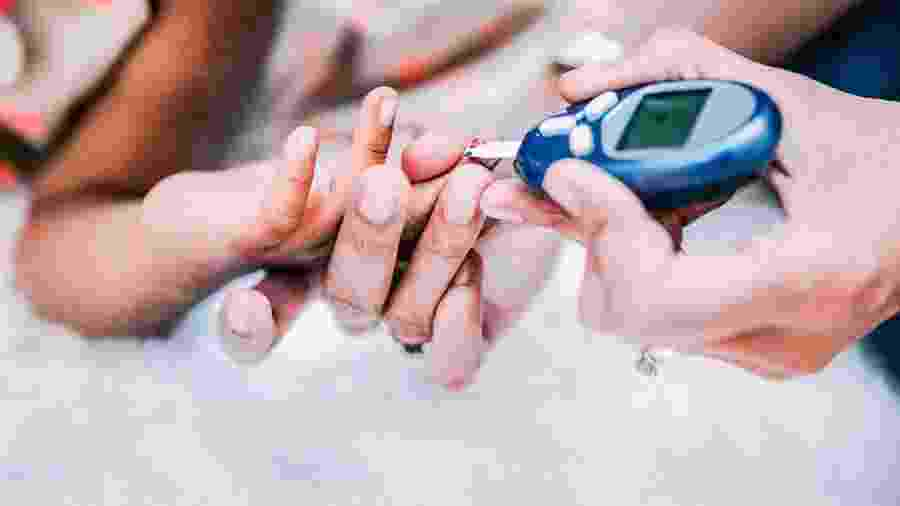 Exame de diabetes - Getty Images