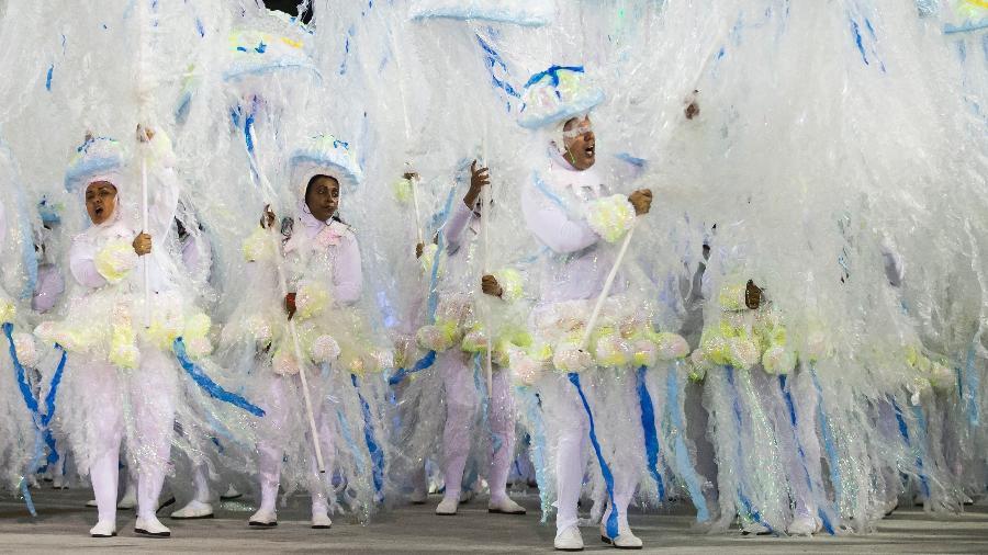 Desfile da Unidos da Tijuca no Carnaval 2018 - Bruna Prado/UOL