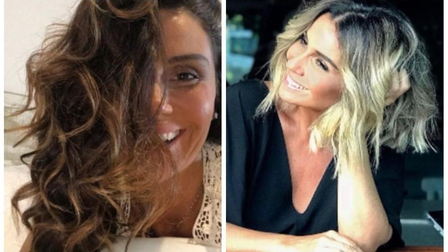 Antes e depois de Giovanna Antonelli - Reprodução/Instagram/gioanto