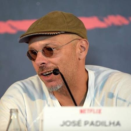 """O cineasta José Padilha durante lançamento de """"O Mecanismo"""" - Alexandre Loureiro/Getty Images"""