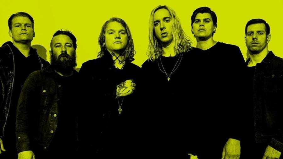 "A banda Underoath lançou nesta sexta-feira o álbum ""Erase Me"" - Reprodução/Facebook"