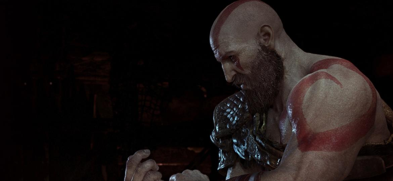 Rafael Grassetti explicou que, por jogo se passar na mitologia nórdica, barba de Kratos era obrigatória - Divulgação