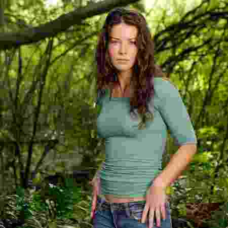 """Evangeline Lilly como Kate Austen na série """"Lost"""" - Reprodução"""