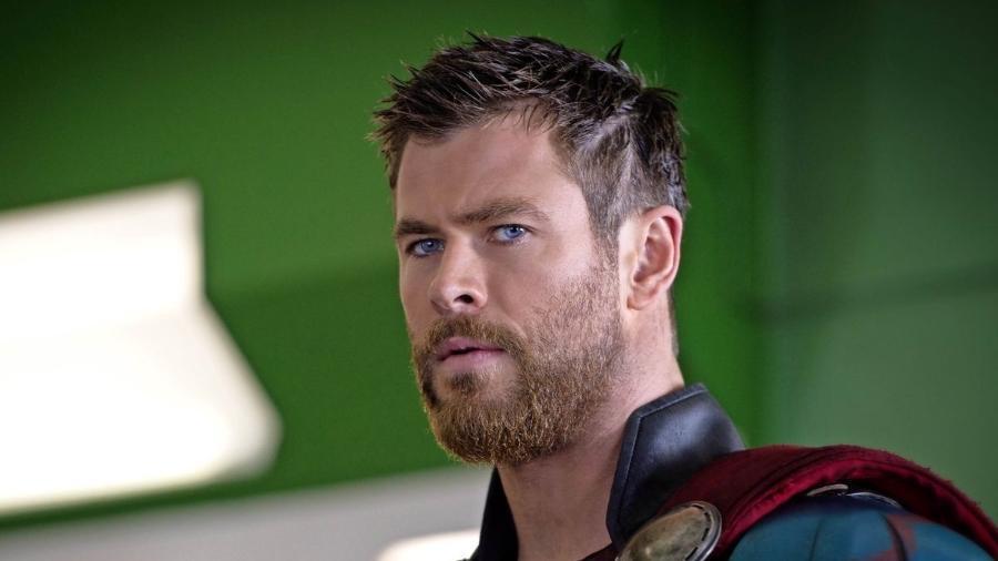 """Chris Hemsworth em """"Thor: Ragnarok"""" - Reprodução"""