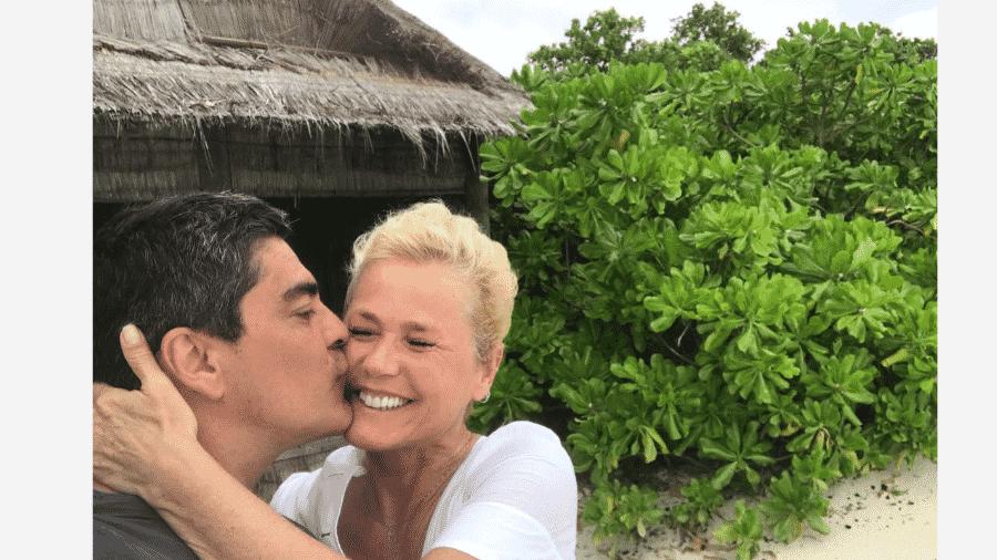 Junno Andrade e Xuxa - Reprodução/Instagram