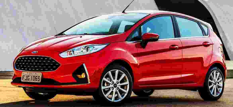 Fiesta Sedan, EcoBoost e PowerShift foram descontinuados pouco antes da Ford anunciar o fim da linha - Divulgação