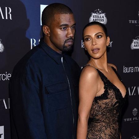 "Kim Kardashian e Kanye West - Dimitrios Kambouris/Getty Images for Harper""s Bazaar"
