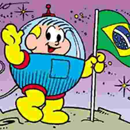 Astronauta, personagem da Turma da Mônica - Reprodução - Reprodução