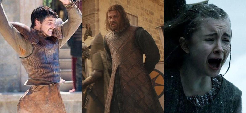 """Atores elegeram os momentos mais chocantes de """"Game of Thrones"""" - Reprodução"""