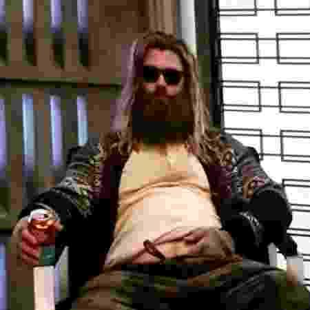 """Thor em cena de """"Vingadores: Ultimato"""" - Reprodução/Youtube"""