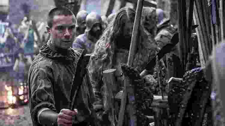 Gendry, considerado bastardo, é descartado na linha sucessória - Divulgação