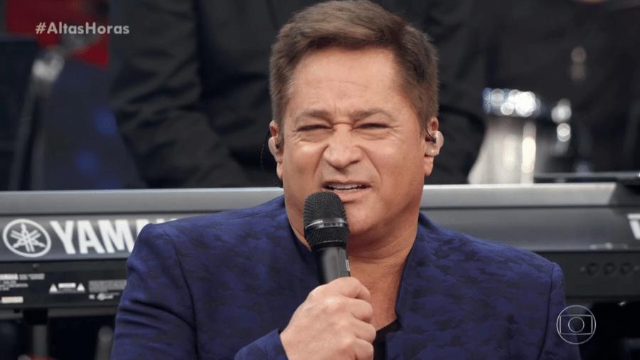 O cantor Leonardo no Altas Horas - Reprodução/TV Globo