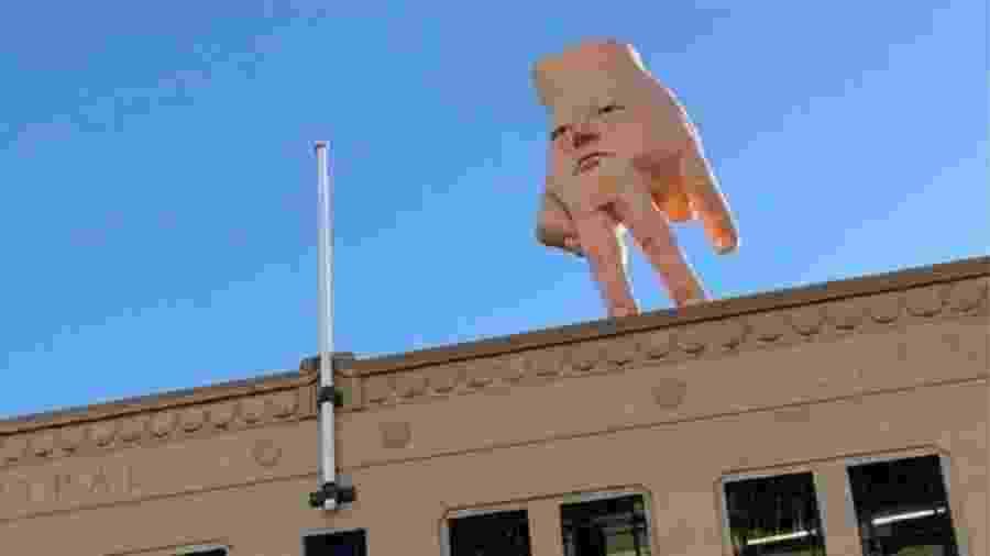 A estrutura recém-instalada na Nova Zelândia é descrita como um pesadelo - City Gallery Wellington