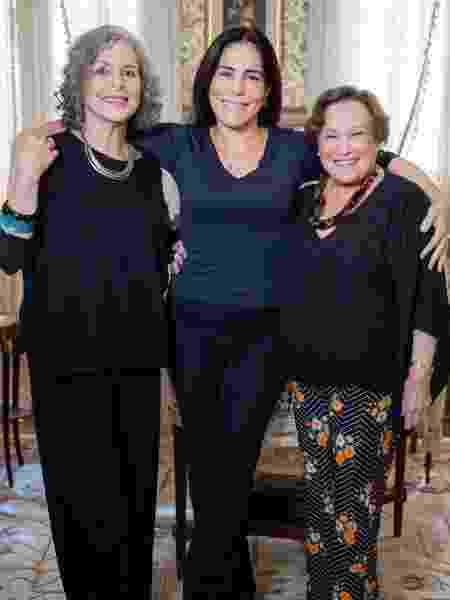 Irene Ravache, Gloria Pires e Nicette Bruno: as Lolas da dramaturgia - Reprodução/Instagram